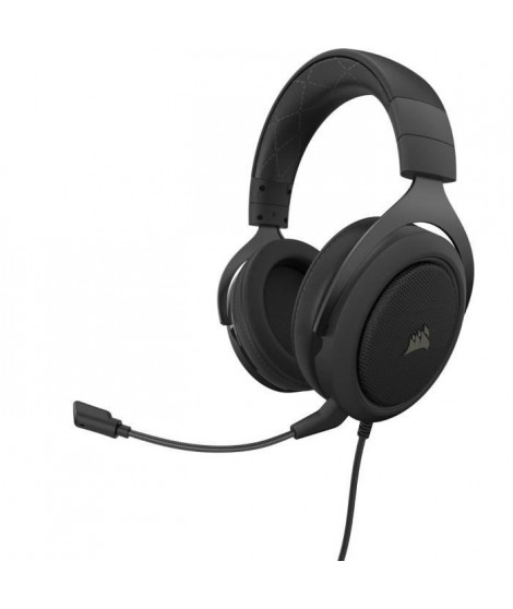 CORSAIR Casque Gamer HS60 PRO SURROUND - Filaire - Carbone (CA-9011213-EU)