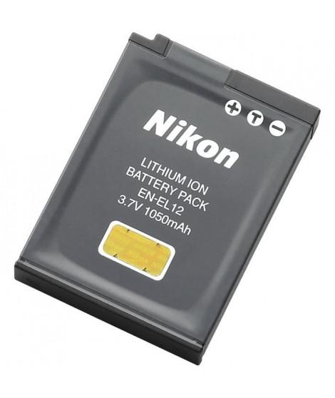 NIKON Batterie EN-EL12 pour Coolpix S6000 / S7000 / S8000 / S9000 / AW100