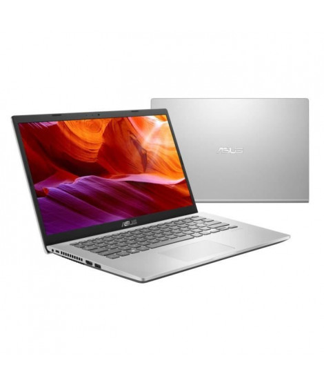 ASUS PC portable Vivobook R409JA-EK050T  14'' FHD - Core i3-1005G1 - RAM 8Go - Stockage 512Go SSD  - Windows 10