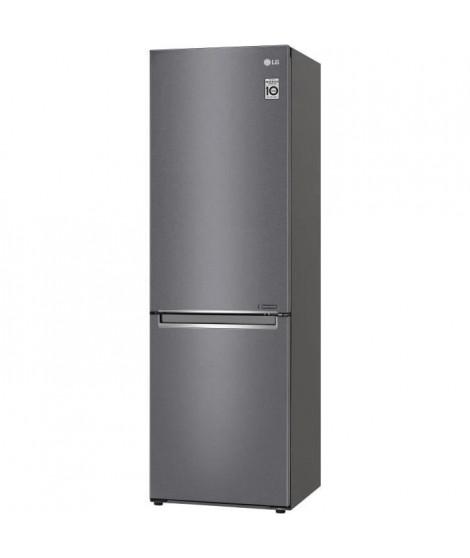 LG GBP30DSLZN - Réfrigérateur combiné - 341 L (234 + 107 L) - Total no frost - L 59,5 x H 186 cm - A++ - Couleur graphite