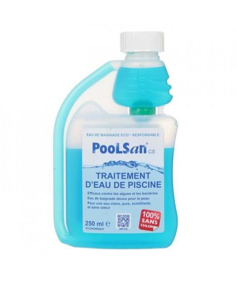 POOLSAN Bouteille doseuse de désinfectant - 100% sans chlore - 250 ml