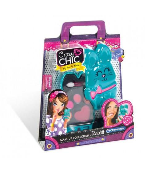 CLEMENTONI Crazy Chic - Mini palette de Maquillage Enfant - Modele Lapin
