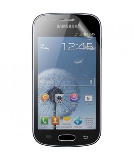 BIGBEN Lot 2 proteges-écran One Touch pour Samsung Galaxy Trend S7560 - Transparent