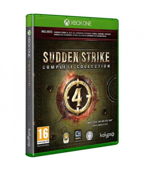 Sudden Strike 4 Complete Jeu Xbox One