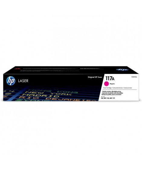HP INC. Cartouche Toner HP 117A - Magenta - Laser - 700 Pages