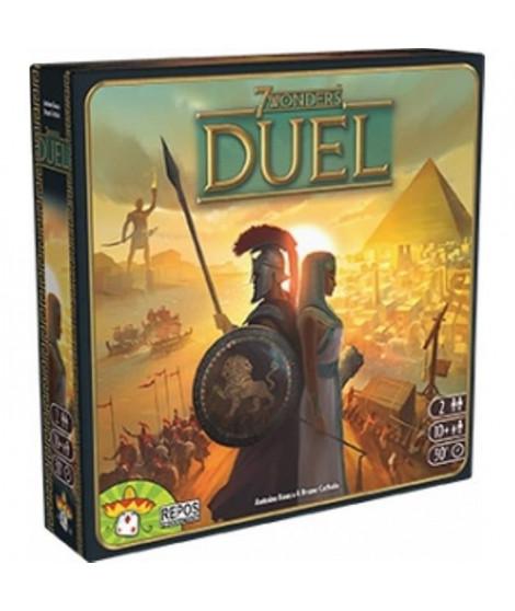 ASMODEE - 7 Wonders Duel - Jeu autonome pour 2 joueurs - Jeu de société
