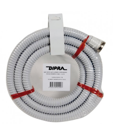 DIPRA Kit d'évacuation F33 / 42 - Ø 25 mm - 5 m