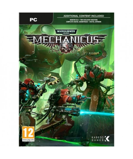 Warhammer 40K Mechanicus Jeu PC