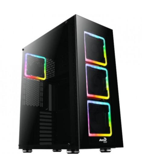 AEROCOOL Tor Pro (RGB) noir (Verre trempé) - Boîtier sans alimentation - Format E-ATX