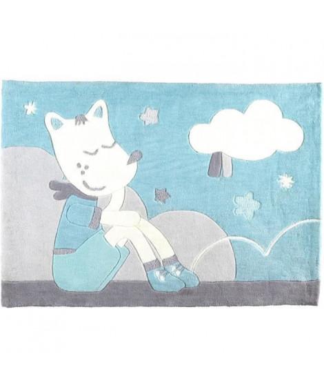 SAUTHON BABY DECO Tapis de chambre 130x90 cm Lulu Chéri