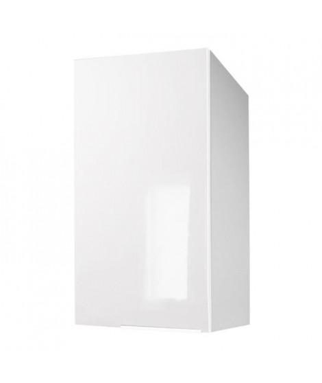 POP Meuble haut de cuisine L 40 cm - Blanc brillant