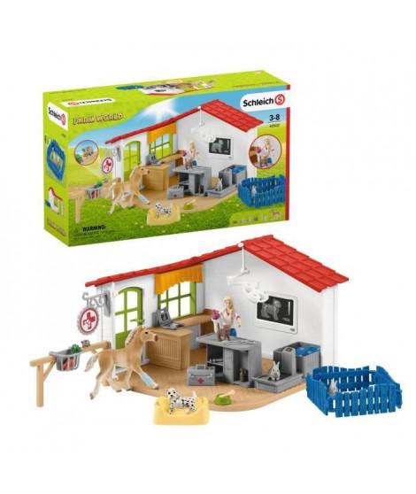 SCHLEICH -  Cabinet vétérinaire avec animaux