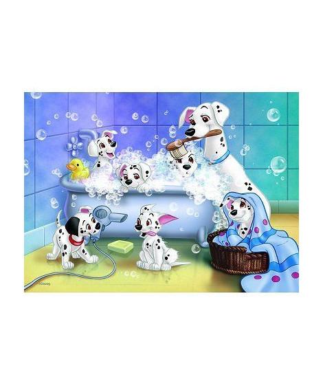 Puzzle 60 pieces - Les 101 Dalmatiens
