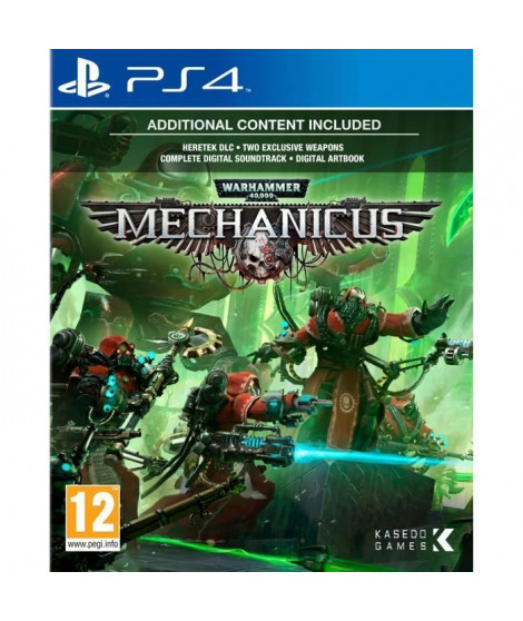 Warhammer 40K Mechanicus Jeu PS4