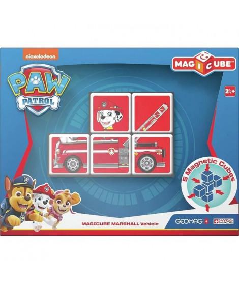 MAGICUBE - Pat' Patrouille Véhicule Marcus (5 Cubes) - Modele Aléatoire