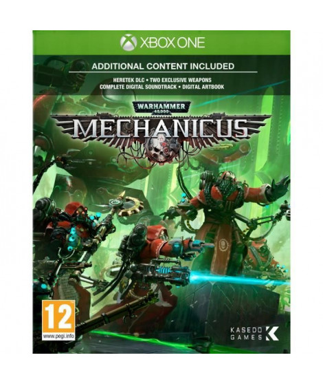 Warhammer 40K Mechanicus Jeu Xbox One