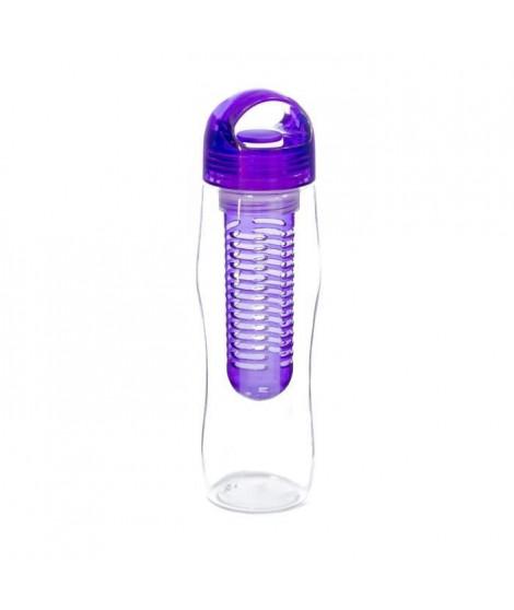 YOKO DESIGN Bouteille détox avec infuseur violet