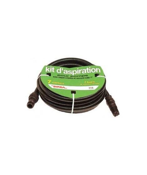 DIPRA Kit d'aspiration - Plastique - 7 m