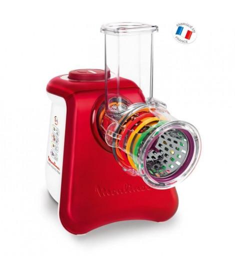MOULINEX DJ812510 Hachoir multifonction Fresh Express Max 5EN1 - Rouge et Blanc