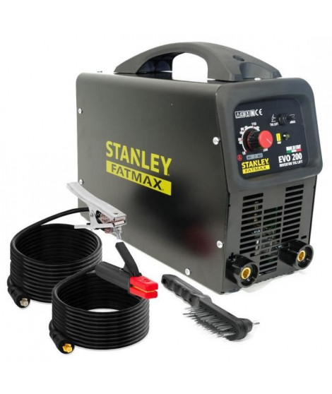 STANLEY FATMAX poste a souder inverter 200a evo200 mma/tig/lift