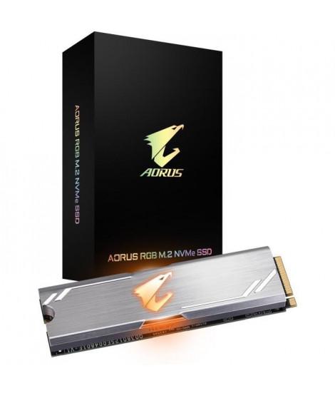GIGABYTE - Disque SSD Interne - Aorus - 256Go - M.2 NVMe (GP-ASM2NE2256GTTDR)