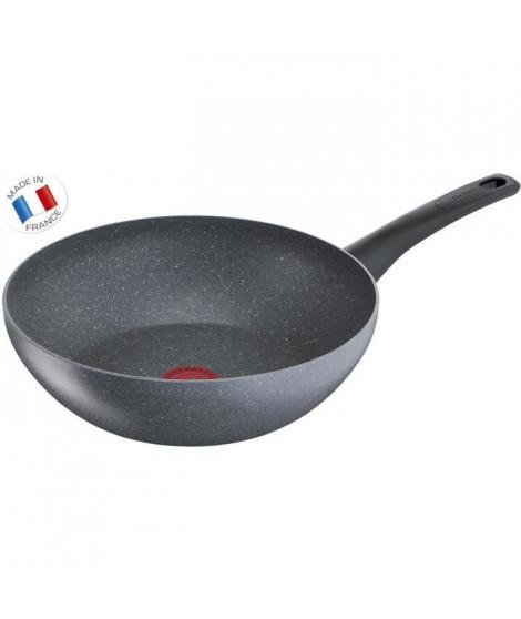 TEFAL - G1221902 - CHEF Effet Pierre - Poele wok - 28 cm