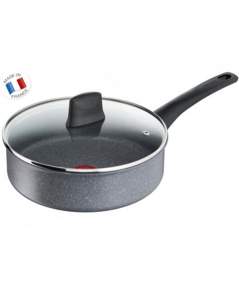 TEFAL - G1223202 - CHEF Effet Pierre - sauteuse - 24 cm