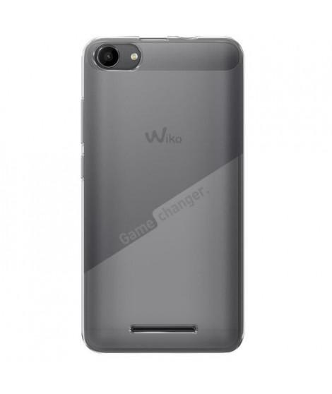 Wiko Coque Transparente Game Changer + Film Protecteur pour Wiko Jerry