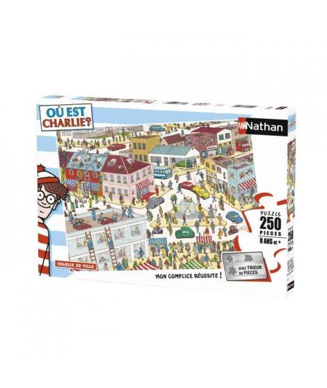 RAVENSBURGER Puzzle 250 p - Charlie en ville / Où est Charlie ?