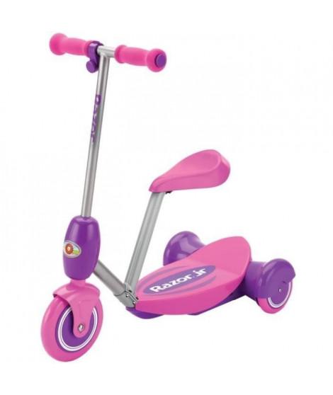 RAZOR - Trottinette Electrique Enfant 3 roues avec siege - Lil 'ES Rose