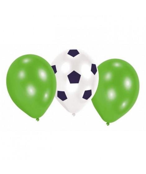AMSCAN Lot de 6 Ballons latex Kicker Party 22,8 cm 9