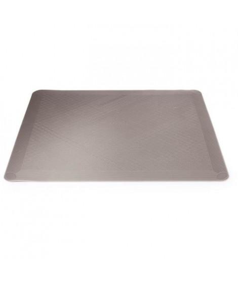IMF 2630 Tapis four en silicone Happy Life - 34,5 X 29,5 cm