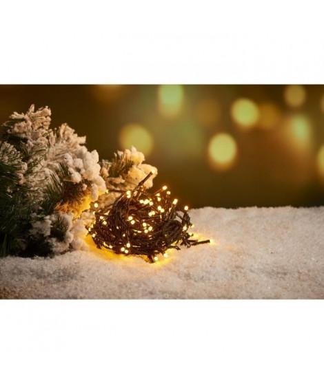 Guirlande extérieure - 60 LED doux blanc chaud - 3 m