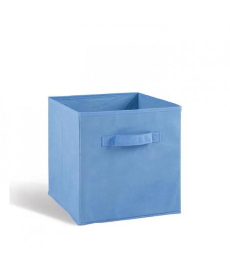 COMPO Tiroir de rangement - Tissu - 27x27x28 cm - Bleu clair