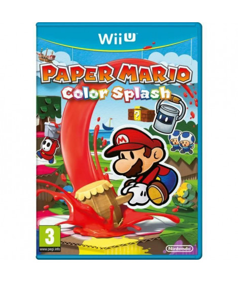 Paper Mario Color Splash Jeu Wii U