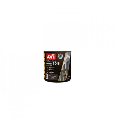 AVI Peinture pour bois - Brun normand satin - 0,5 L