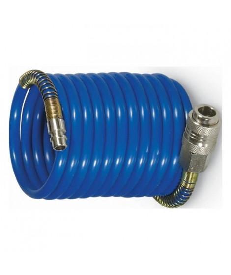 MICHELIN Tuyau Flexible 5 M Spirale Raccord Rapide