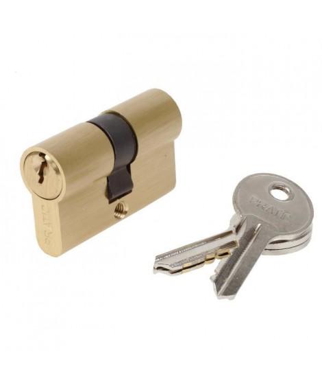 BRICARD PRATIC 1439 Cylindre 25+25 mm en laiton double entrée / niveau de sécurité 1