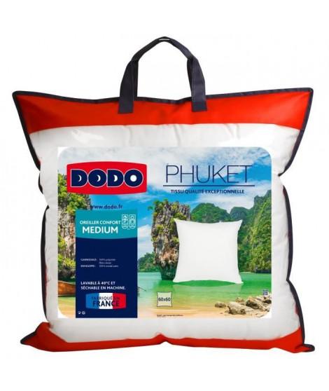 DODO Oreiller PHUKET Confort Medium 60x60cm