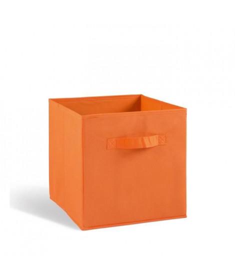 COMPO Tiroir de rangement - Tissu - 27x27x28 cm - Orange