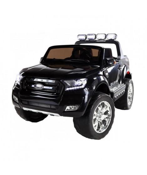 EROAD - Ford Ranger Noir - 2 places - 12V - Roues gomme - MP3
