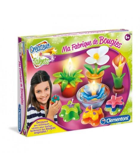 CLEMENTONI Créateur de talents - Ma Fabrique a Bougies - Loisirs créatifs