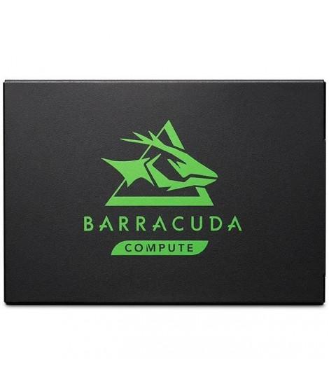 SEAGATE - Disque SSD interne - BarraCuda 120 SATA SSD 250 Go 2,5 pouces