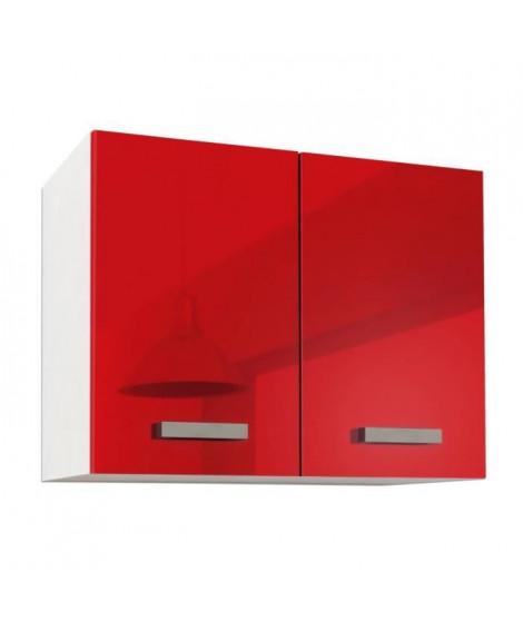START Caisson haut de cuisine L 80 cm - Rouge Brillant