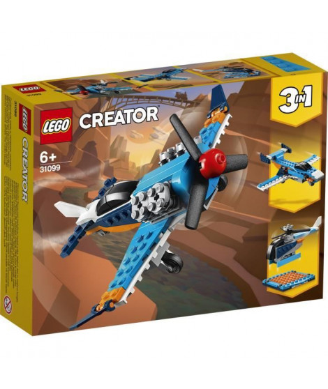 LEGO Creator 31099 L'avion a hélices