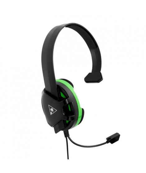 Turtle Beach - Casque Gamer - Recon Chat Noir (compatible Xbox/PS4/PC/Switch/Mobile) - TBS-2408-02