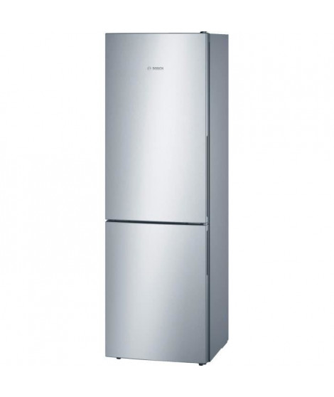BOSCH KGV36VL32S -Réfrigérateur congélateur bas-307 L (213+94 L)-Froid brassé-A++-L 60 x H 186 cm