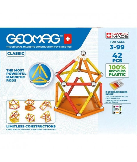 Geomag EcoFriendly 42pcs Color