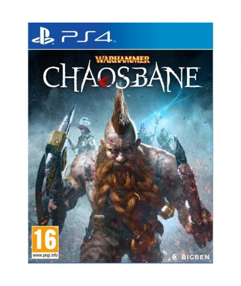 Warhammer ChaosBane Jeu PS4