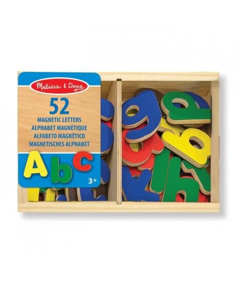 MELISSA & DOUG - 52 Aimants Alphabet En Bois